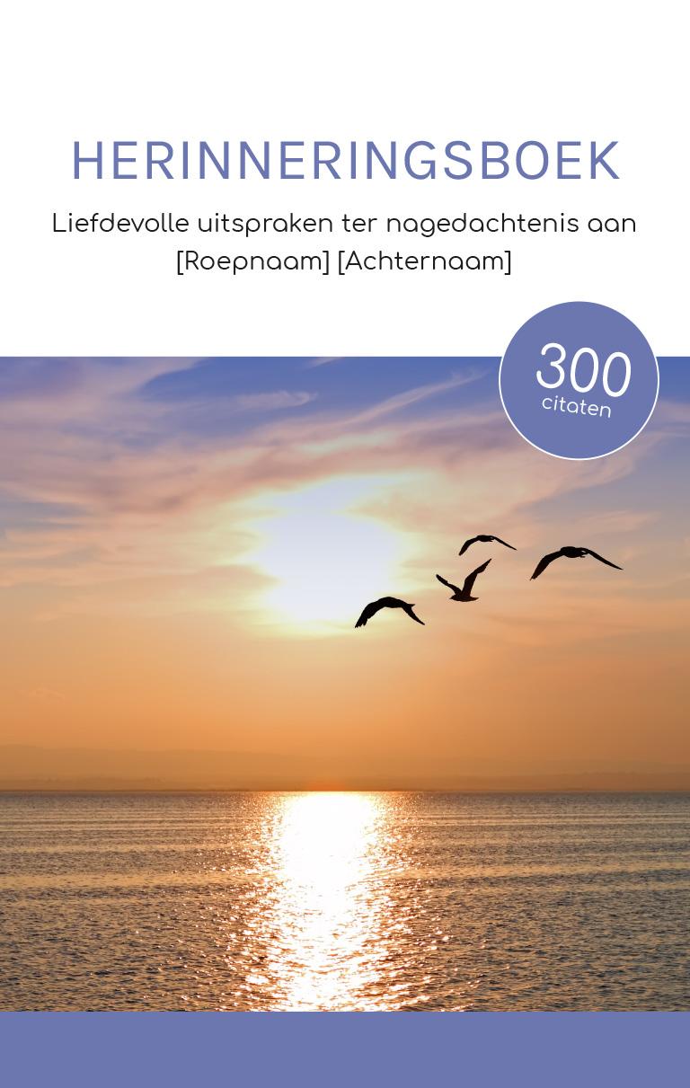 Wonderbaarlijk Herinneringsboek - Cadeau bij condoleance  Boek als Cadeau.nl OK-38
